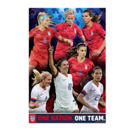 US Women's National Soccer Team Poster | USWNT Poster 2019