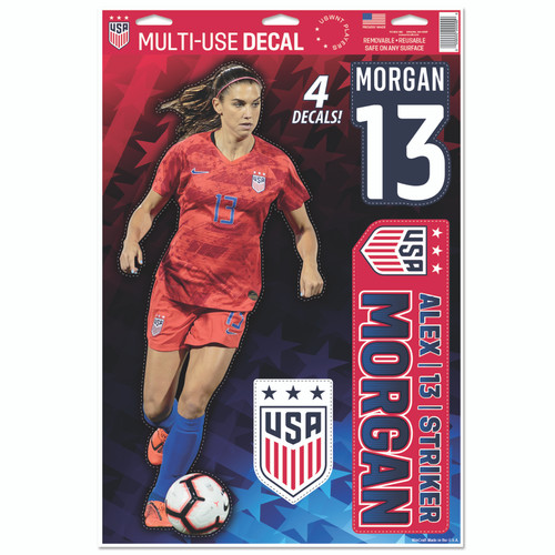 Alex Morgan | Set of 4 Licensed Decals | The Poster Alternative
