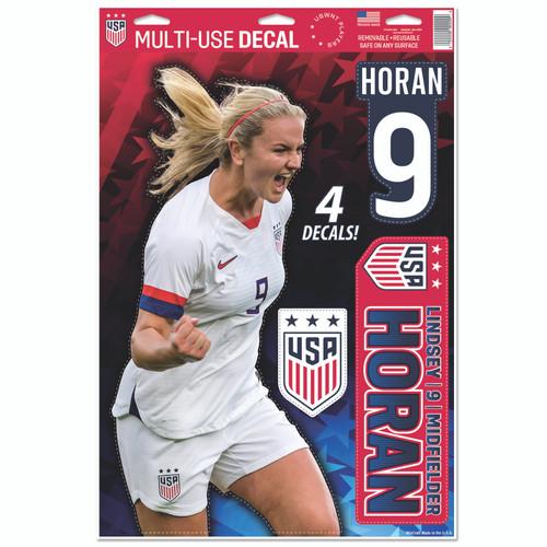 Lindsay Horan   Set of 4 Licensed Decals   The Poster Alternative