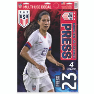Christen Press | Set of 4 Licensed Decals | The Poster Alternative