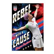 """Megan Rapinoe """"Rebel"""" Poster 2019"""