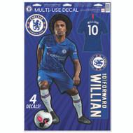 Chelsea FC Willian Set of 4