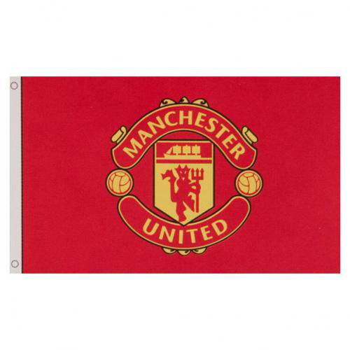 Manchester United FC Licensed Flag 5' x 3'