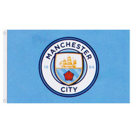 Manchester City FC Licensed Flag 5' x 3'