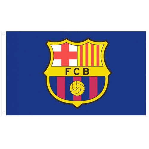 Barcelona FC Licensed Flag 5' x 3'