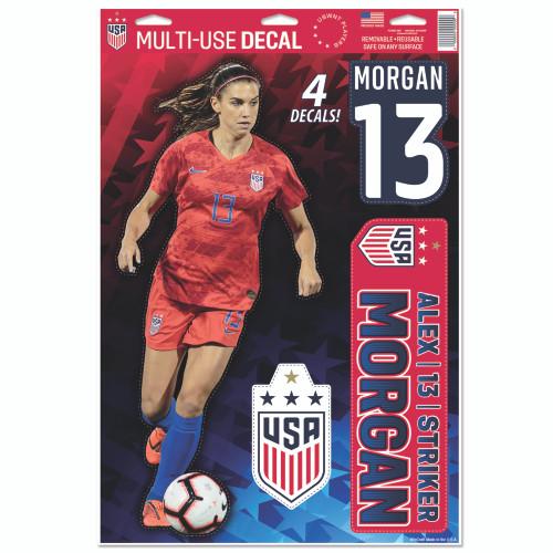 Alex Morgan Decal Set of 4 - 4 Star Crest