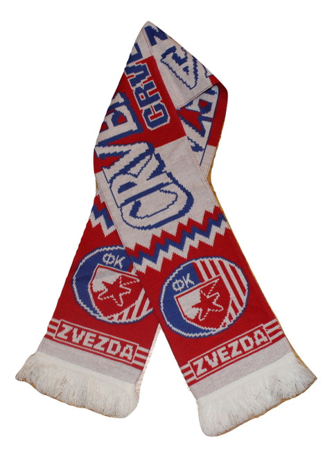 RED STAR BELGRADE - Authentic Fan Scarf