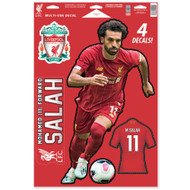 Liverpool FC - Mo Salah -Set of 4 Licensed Decals