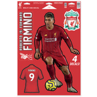 Liverpool FC - Robert Firminho -Set of 4 Licensed Decals