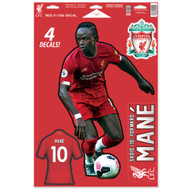 Liverpool FC - Sadio Mane - Set of 4 Licensed Decals
