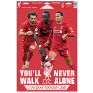 Liverpool FC - 3 Star Players -Set of 4 Licensed Decals