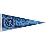 "NEW YORK CITY  FC Premium Style Fan Pennant 12""x 30"""