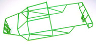E-Maxx 3908 3903 Green Polished Stainless Steel Full Roll Cage