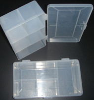 5 Large 5 Compartment Screw Kit Box ( Hobby Box )