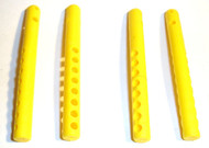 T-Maxx and E-Maxx Yellow Nylon Reinforced Body Mount Posts