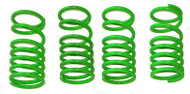 E-Revo or Revo 3.3 Green Dual Rate Shock Springs Set