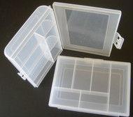 2 Small 6 Compartment Screw Kit Box / Bearing Box/ Hobby Box