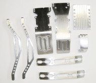 T/E-Maxx super brushed billet aluminum package deal