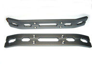 T-Maxx and E-Maxx Gun Metal  Anodized Bumper Set