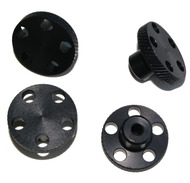 T-Maxx E-Maxx Black Anodized Aluminum Knock Off Wheel Hub Nuts Set of 4