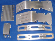 T-Maxx, S-Maxx Brushed aluminum package deal