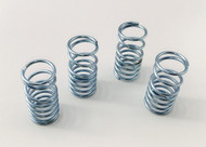 Traxxas Summit zinc plated silver Dual Rate Shock Springs Set