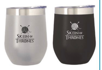 Skein of Thrones Insulated Cup