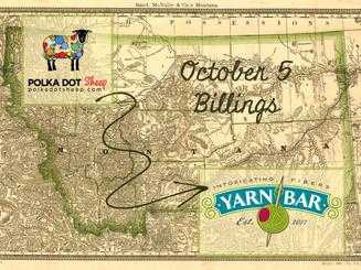 Event: Polka Dot Sheep Trunk Show at Yarn Bar