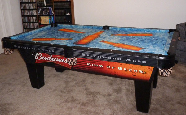 Bob's Buds Custom ArtScape Pool Table Felt