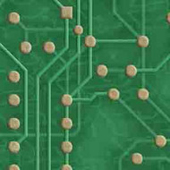 ArtScape Green Circuit Board Pool Table Cloth