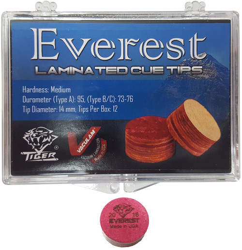 Tiger Everest Laminated Tip, 14mm