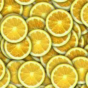 ArtScape Lemon Citrus Pool Table Cloth