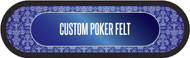 Custom Poker Table Felt 96""