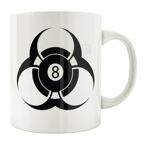 Biohazard 8-Ball 11oz. Coffee Mug