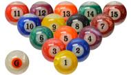 Jade Pool and Billiard Ball Set