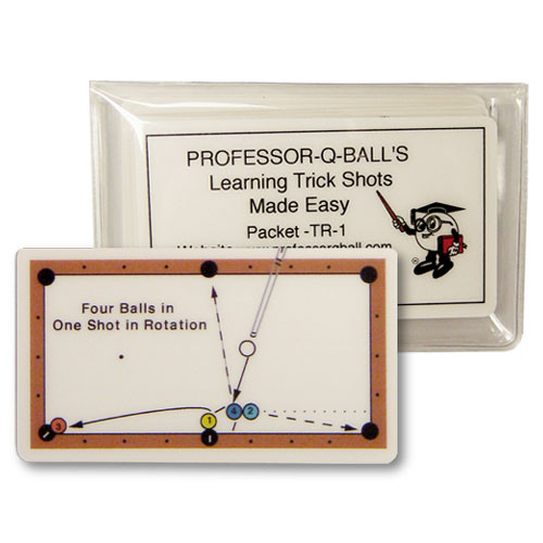 Learning Trick Shots Made Easy Cards