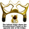 Sterling Solid Brass Bridge Head