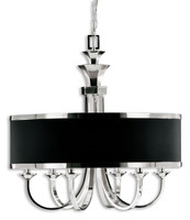 Tuxedo, 6 Light Single Shade Chandelier