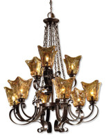 Vetraio, 9 Light Chandelier