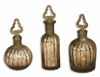 Kaho, Perfume Bottles, Set Of 3