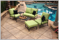 san michele 6 pc deep seating patio set (39 cushion colors)