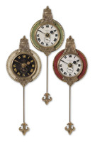 Monarch Set Of 3 Wall Clocks