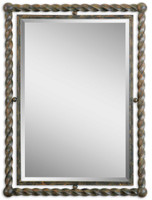 Garrick Wrought Iron Wall Mirror