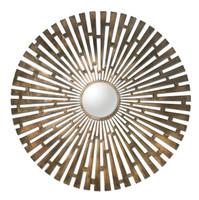 Tremeca Brass Starburst Mirror