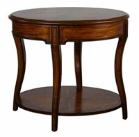 Corianne Round Lamp Table