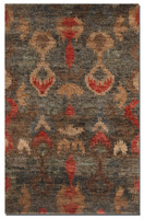 Java Hand Knotted Ikat 6 X 9 Rug