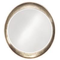 Ellipse Round Framed Wall Mirror