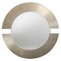 Orbit Round Framed Wall Mirror