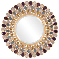 Grace Round Framed Wall Mirror