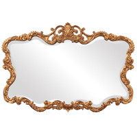 Talida Ornate Gold Leaf Frame Mirror